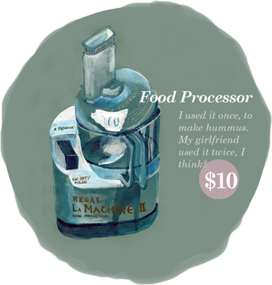 Food Processor Yard Sale Series