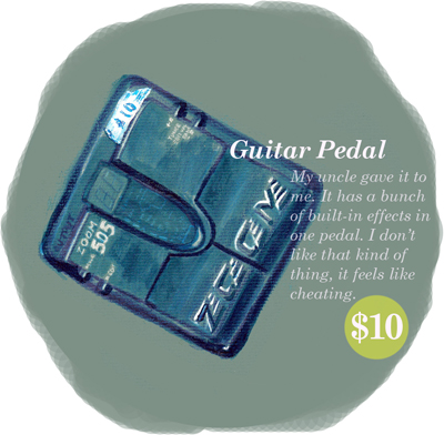 Guitar Pedal Yard Sale Series